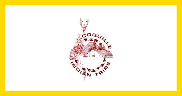 Flag of the Coquille Indian Tribe