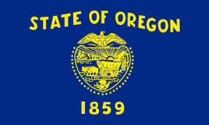 Flag of Oregon (front)